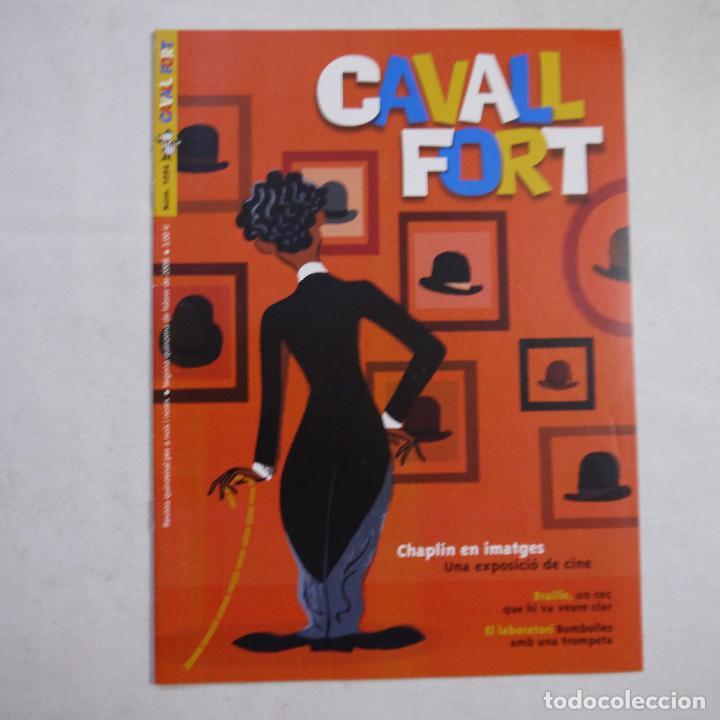 Coleccionismo de Revistas y Periódicos: LOTE 18 REVISTAS CAVALL FORT 2008 (AÑO CASI COMPLETO FALTAN 3 NÚMEROS) - Foto 5 - 234117090