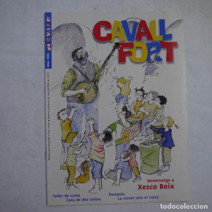 Coleccionismo de Revistas y Periódicos: LOTE 18 REVISTAS CAVALL FORT 2008 (AÑO CASI COMPLETO FALTAN 3 NÚMEROS) - Foto 7 - 234117090