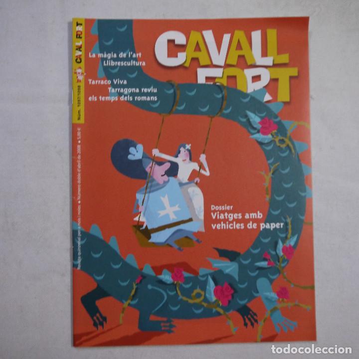 Coleccionismo de Revistas y Periódicos: LOTE 18 REVISTAS CAVALL FORT 2008 (AÑO CASI COMPLETO FALTAN 3 NÚMEROS) - Foto 8 - 234117090