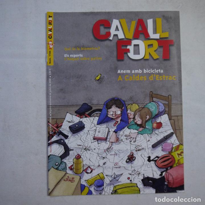 Coleccionismo de Revistas y Periódicos: LOTE 18 REVISTAS CAVALL FORT 2008 (AÑO CASI COMPLETO FALTAN 3 NÚMEROS) - Foto 14 - 234117090