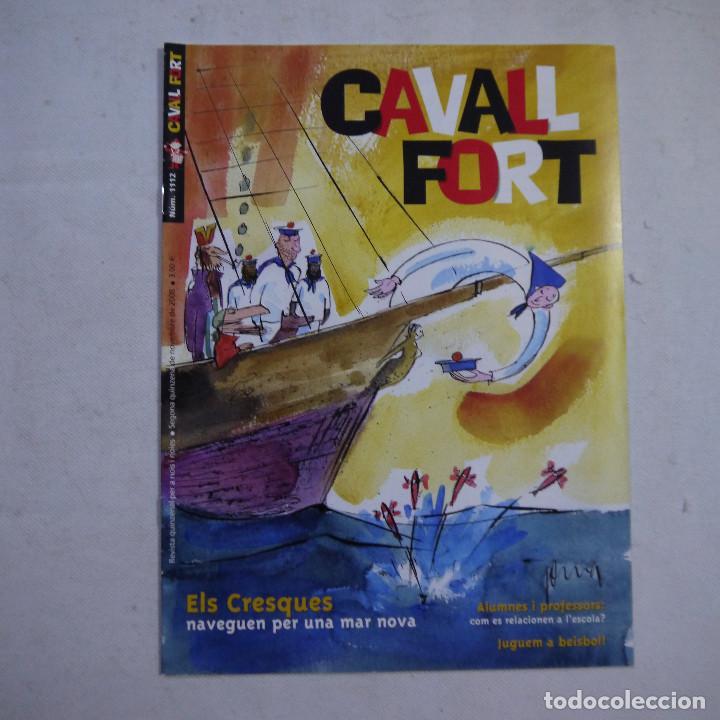 Coleccionismo de Revistas y Periódicos: LOTE 18 REVISTAS CAVALL FORT 2008 (AÑO CASI COMPLETO FALTAN 3 NÚMEROS) - Foto 19 - 234117090