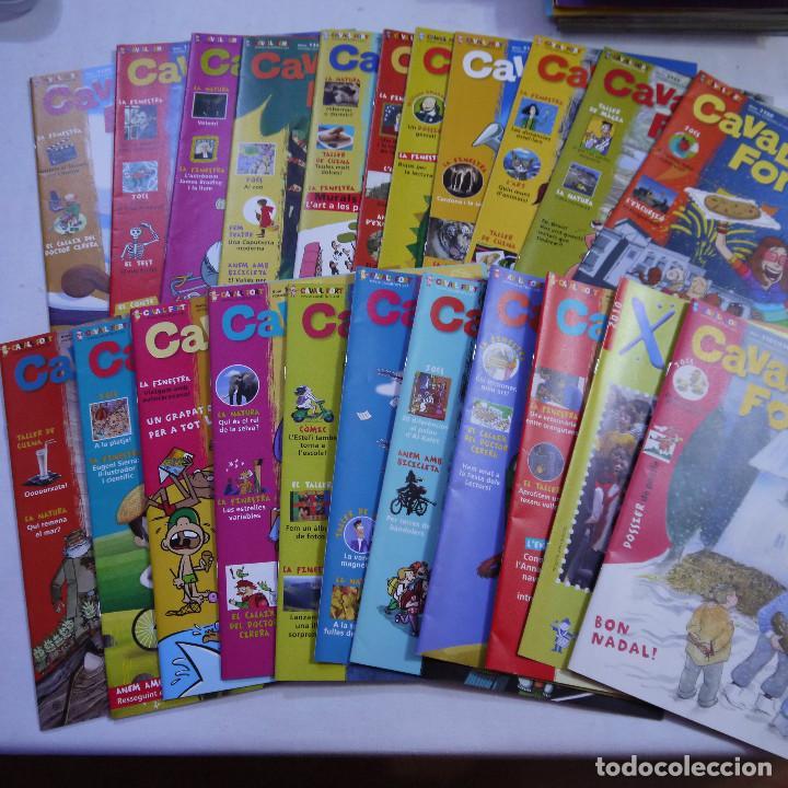 LOTE 21 REVISTAS CAVALL FORT 2010 (AÑO COMPLETO) (Coleccionismo - Revistas y Periódicos Modernos (a partir de 1.940) - Otros)
