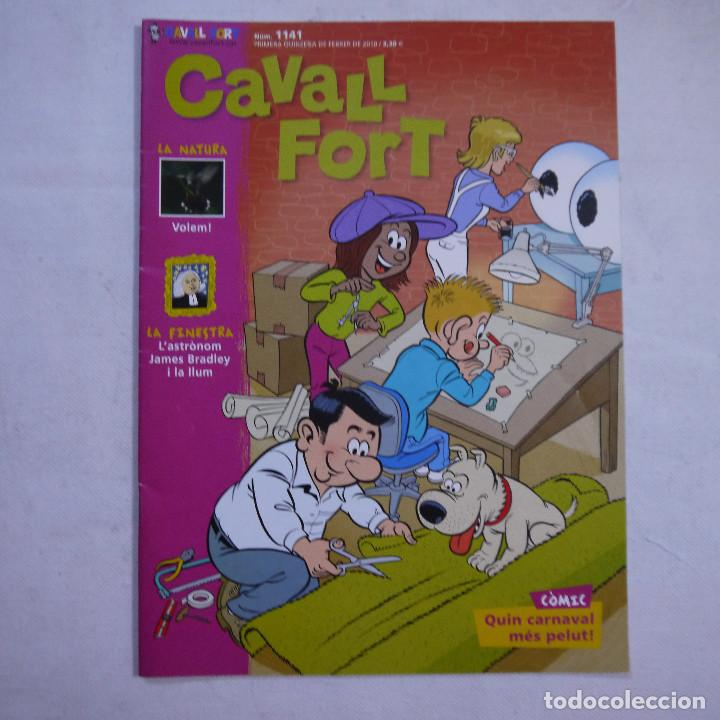 Coleccionismo de Revistas y Periódicos: LOTE 21 REVISTAS CAVALL FORT 2010 (AÑO COMPLETO) - Foto 4 - 234119340