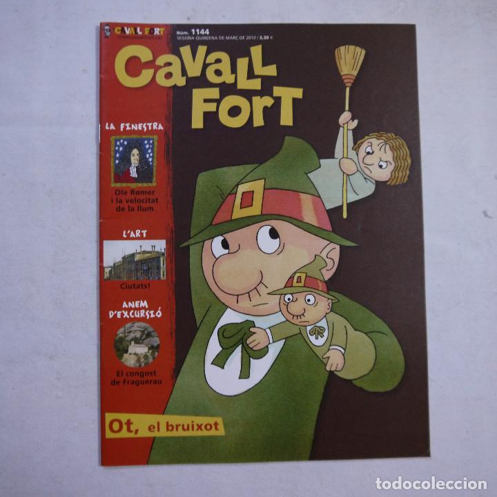 Coleccionismo de Revistas y Periódicos: LOTE 21 REVISTAS CAVALL FORT 2010 (AÑO COMPLETO) - Foto 7 - 234119340