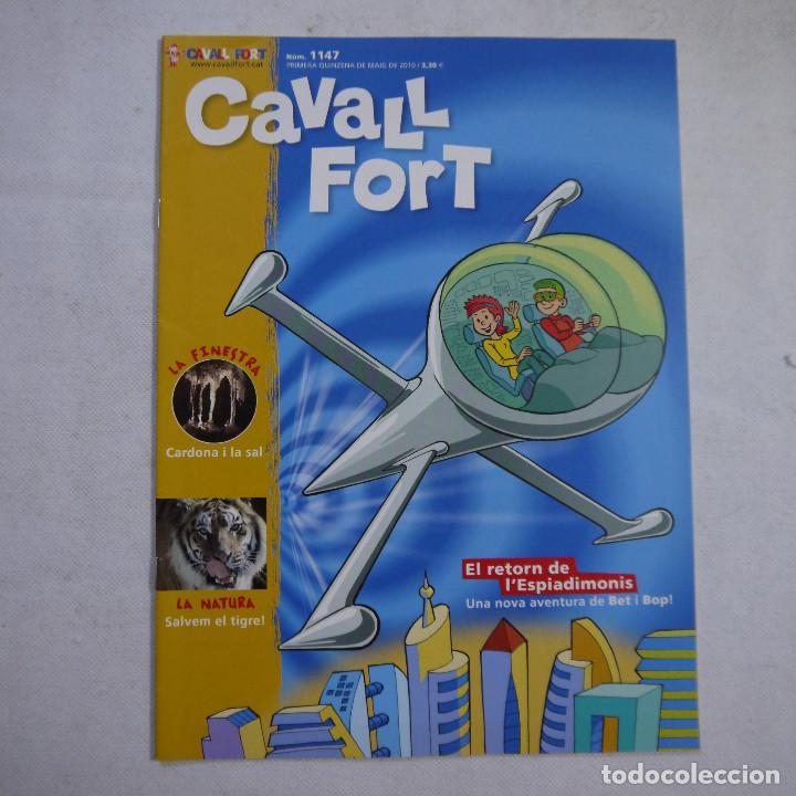 Coleccionismo de Revistas y Periódicos: LOTE 21 REVISTAS CAVALL FORT 2010 (AÑO COMPLETO) - Foto 9 - 234119340