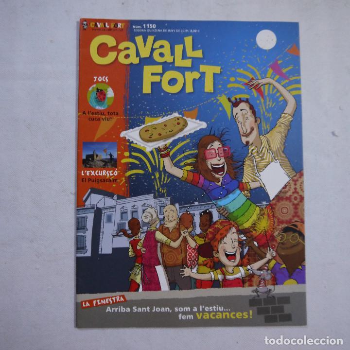 Coleccionismo de Revistas y Periódicos: LOTE 21 REVISTAS CAVALL FORT 2010 (AÑO COMPLETO) - Foto 12 - 234119340