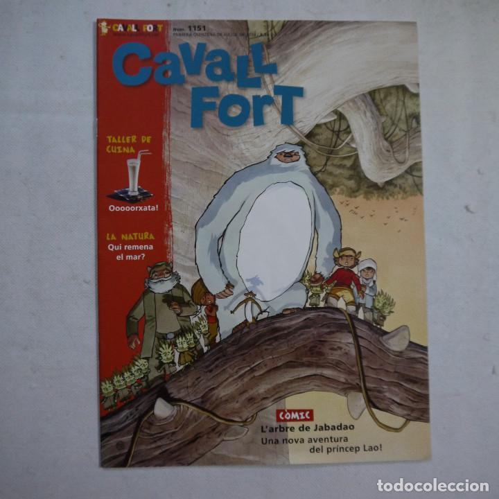 Coleccionismo de Revistas y Periódicos: LOTE 21 REVISTAS CAVALL FORT 2010 (AÑO COMPLETO) - Foto 13 - 234119340