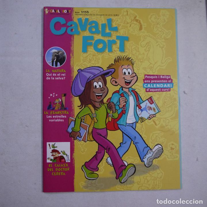 Coleccionismo de Revistas y Periódicos: LOTE 21 REVISTAS CAVALL FORT 2010 (AÑO COMPLETO) - Foto 16 - 234119340