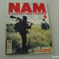 Coleccionismo de Revistas y Periódicos: NAM CRÓNICA DE LA GUERRA DE VIETNAM Nº 6 1965 . 1975. Lote 234294030