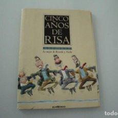 Coleccionismo de Revistas y Periódicos: CINCO AÑOS DE RISA EL MUNDO 1990 - 1995. Lote 234327850