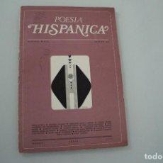 Coleccionismo de Revistas y Periódicos: POESÍA HISPÁNICA Nº 256. Lote 234327970