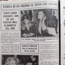 Coleccionismo de Revistas y Periódicos: ANGELA MOLINA MARIA JOSE CANTUDO. Lote 234416445