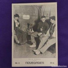 Coleccionismo de Revistas y Periódicos: REVISTA NOVEDADES. EDITADA EN SAN SEBASTIAN DE 1910 A 1913. Nº78. AÑO 1910. 28 PAGINAS. COMPLETO.. Lote 234574235