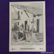 Coleccionismo de Revistas y Periódicos: REVISTA NOVEDADES. EDITADA EN SAN SEBASTIAN DE 1910 A 1913. Nº82. AÑO 1911. 28 PAGINAS. COMPLETO.. Lote 234574600