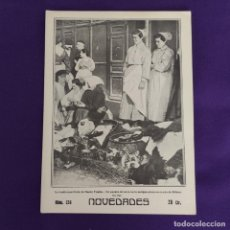 Coleccionismo de Revistas y Periódicos: REVISTA NOVEDADES. EDITADA EN SAN SEBASTIAN DE 1910 A 1913. Nº236. AÑO 1913. 36 PAGINAS. COMPLETO.. Lote 234576755