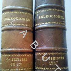 Coleccionismo de Revistas y Periódicos: 1947 SELECCIONES DEL READER'S DIGEST COLECCION AÑO COMPLETO U30. Lote 234729625