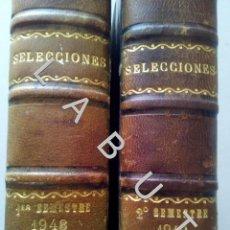 Coleccionismo de Revistas y Periódicos: 1948 SELECCIONES DEL READER'S DIGEST COLECCION AÑO COMPLETO U30. Lote 234730040