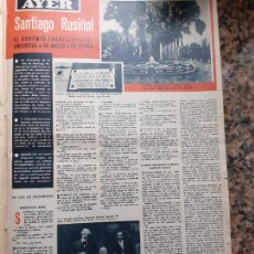 Coleccionismo de Revistas y Periódicos: SANTIAGO RUSIÑOL. Lote 234730340