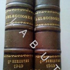 Coleccionismo de Revistas y Periódicos: 1949 SELECCIONES DEL READER'S DIGEST COLECCION AÑO COMPLETO U30. Lote 234730730