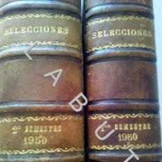 Coleccionismo de Revistas y Periódicos: 1950 SELECCIONES DEL READER'S DIGEST COLECCION AÑO COMPLETO U30. Lote 234731055