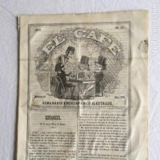 Coleccionismo de Revistas y Periódicos: EL CAFÉ. SEMANARIO ENCICLOPEDICO ILUSTRADO. AÑO II - BARCELONA, 21 DE MAYO DE 1860 - Nº 19. Lote 234751445