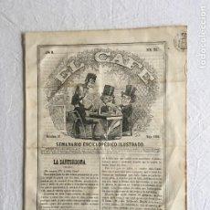Coleccionismo de Revistas y Periódicos: EL CAFÉ. SEMANARIO ENCICLOPEDICO ILUSTRADO. AÑO II - BARCELONA, 27 DE MAYO DE 1860 - Nº 20. Lote 234752670