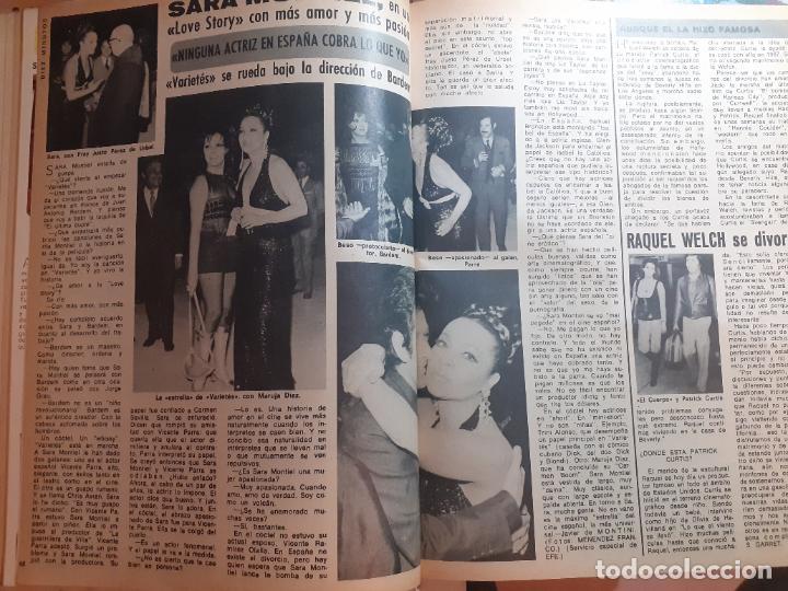 SARA MONTIEL MARUJITA DIAZ VICENTE PARRA RAQUEL WELCH (Coleccionismo - Revistas y Periódicos Modernos (a partir de 1.940) - Otros)