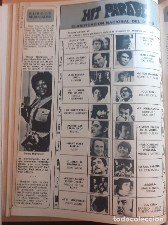 ESCALA DE EXITOS KARINA JUAN PARDO MODUGNO JOSE FELICIANO GOERGE HARRISON (Coleccionismo - Revistas y Periódicos Modernos (a partir de 1.940) - Otros)