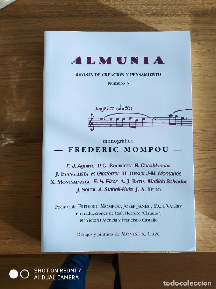 ALMUNIA. REVISTA DE CREACIÓN Y PENSAMIENTO Nº 1,2,3 Y 4 (Coleccionismo - Revistas y Periódicos Modernos (a partir de 1.940) - Otros)