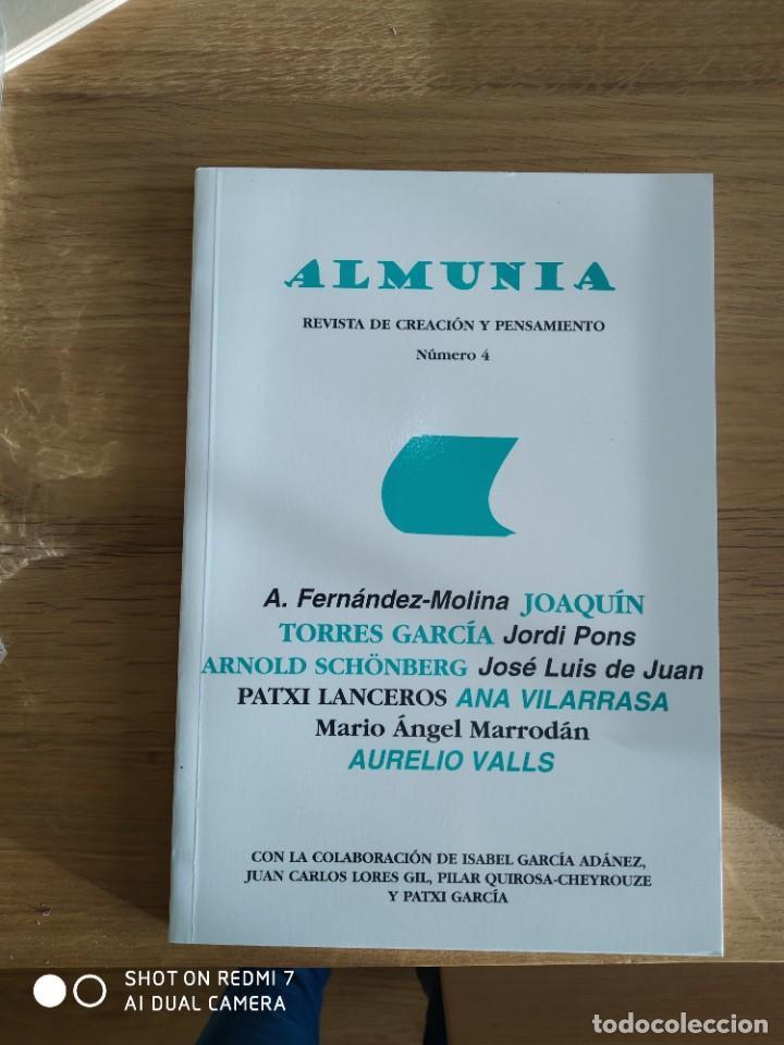 Coleccionismo de Revistas y Periódicos: Almunia. Revista de creación y pensamiento Nº 1,2,3 y 4 - Foto 2 - 234901650