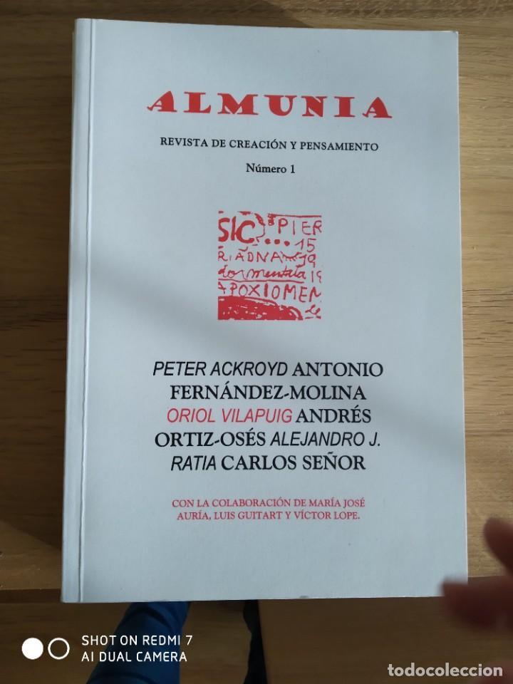 Coleccionismo de Revistas y Periódicos: Almunia. Revista de creación y pensamiento Nº 1,2,3 y 4 - Foto 3 - 234901650