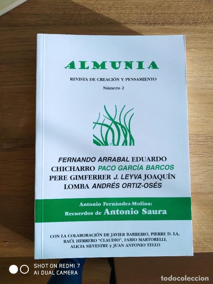 Coleccionismo de Revistas y Periódicos: Almunia. Revista de creación y pensamiento Nº 1,2,3 y 4 - Foto 4 - 234901650