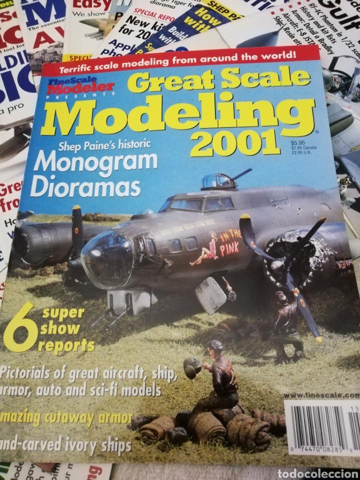 Coleccionismo de Revistas y Periódicos: Revista Fine Scale Modeler 2001 11 ejemplares - Foto 2 - 234923410