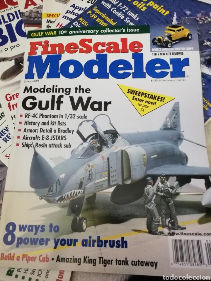 Coleccionismo de Revistas y Periódicos: Revista Fine Scale Modeler 2001 11 ejemplares - Foto 3 - 234923410