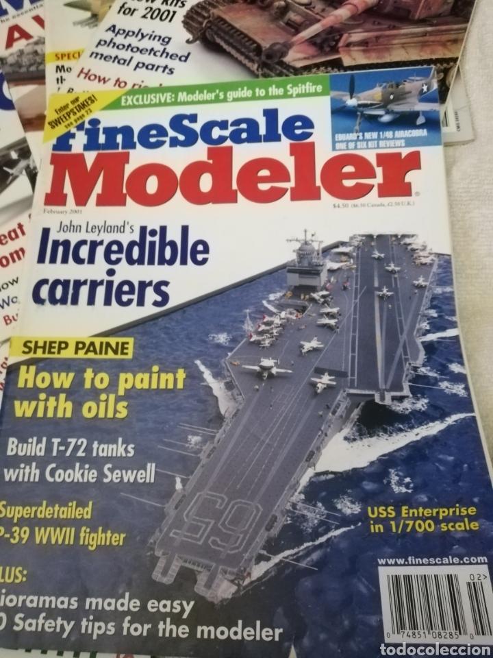Coleccionismo de Revistas y Periódicos: Revista Fine Scale Modeler 2001 11 ejemplares - Foto 4 - 234923410