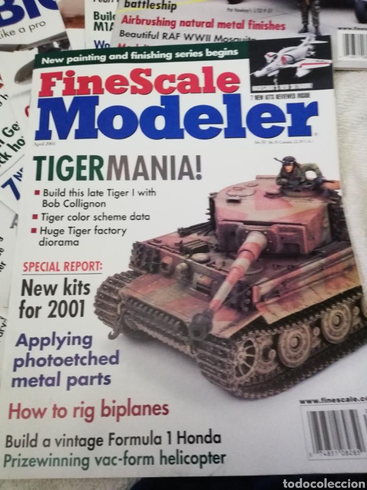 Coleccionismo de Revistas y Periódicos: Revista Fine Scale Modeler 2001 11 ejemplares - Foto 5 - 234923410