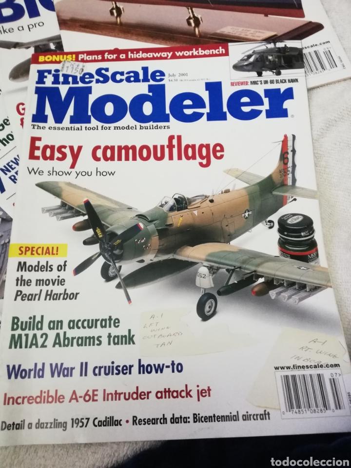 Coleccionismo de Revistas y Periódicos: Revista Fine Scale Modeler 2001 11 ejemplares - Foto 6 - 234923410