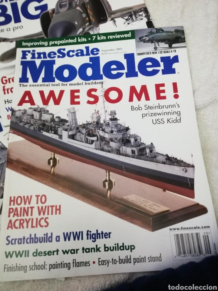 Coleccionismo de Revistas y Periódicos: Revista Fine Scale Modeler 2001 11 ejemplares - Foto 7 - 234923410