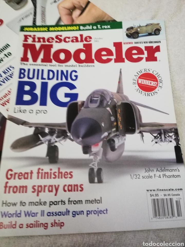 Coleccionismo de Revistas y Periódicos: Revista Fine Scale Modeler 2001 11 ejemplares - Foto 8 - 234923410