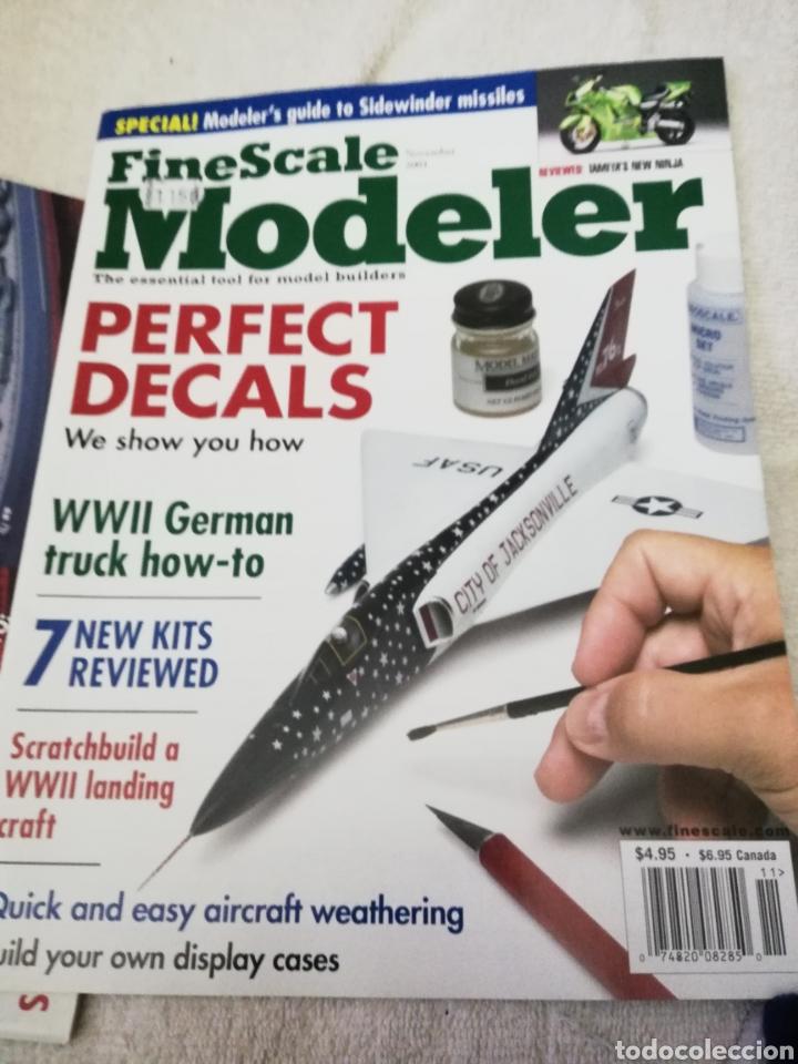 Coleccionismo de Revistas y Periódicos: Revista Fine Scale Modeler 2001 11 ejemplares - Foto 9 - 234923410