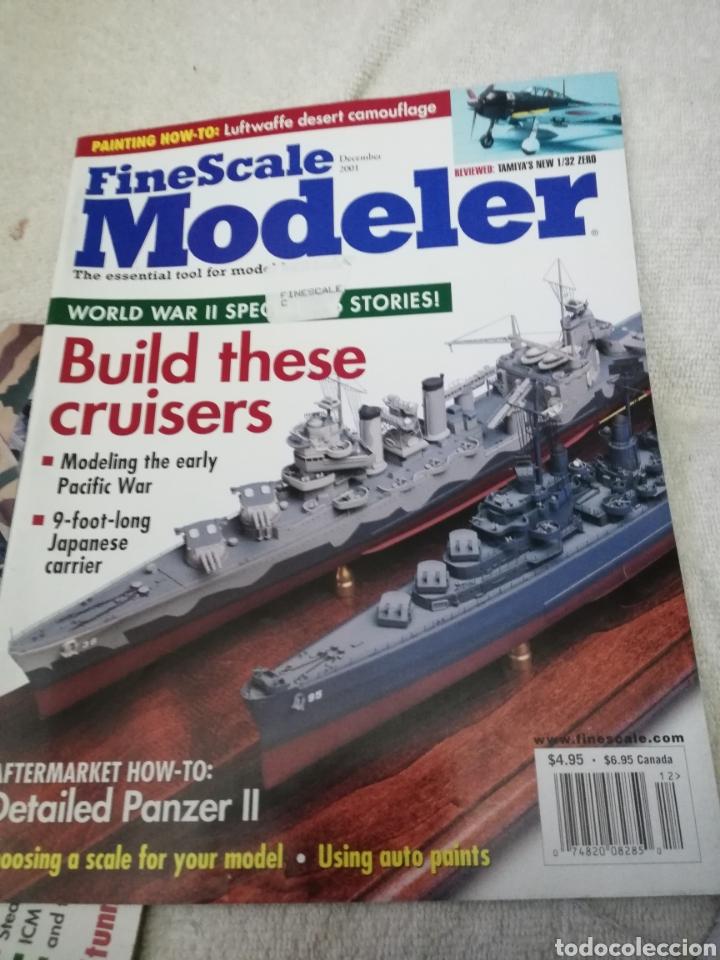Coleccionismo de Revistas y Periódicos: Revista Fine Scale Modeler 2001 11 ejemplares - Foto 10 - 234923410