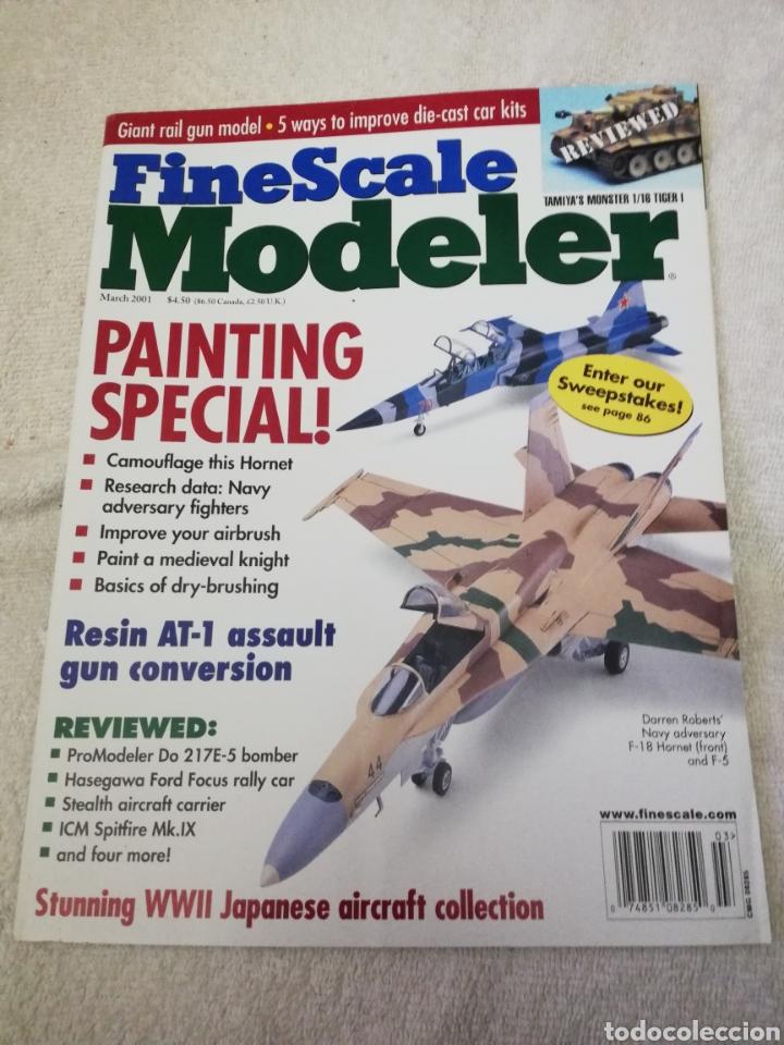 Coleccionismo de Revistas y Periódicos: Revista Fine Scale Modeler 2001 11 ejemplares - Foto 11 - 234923410