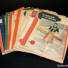 Coleccionismo de Revistas y Periódicos: REVISTA MENSUAL EL HOGAR Y LA MODA - AÑO 1952 INCOMPLETO - FALTA ENERO - 11 NÚMEROS - VER FOTOS.. Lote 235101615