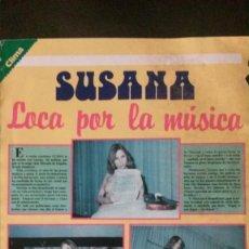 Collectionnisme de Revues et Journaux: RECORTE DE PRENSA-SUSANA ESTRADA-LOCA POR LA MÚSICA. Lote 235103320