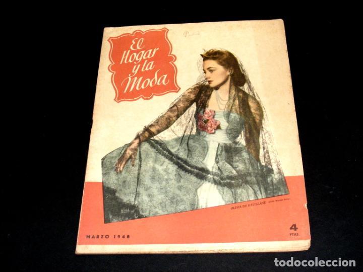 Coleccionismo de Revistas y Periódicos: REVISTA MENSUAL EL HOGAR Y LA MODA - AÑO 1948 COMPLETO - 12 NÚMEROS - VER FOTOS. - Foto 4 - 235113615