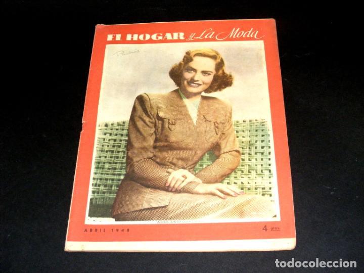 Coleccionismo de Revistas y Periódicos: REVISTA MENSUAL EL HOGAR Y LA MODA - AÑO 1948 COMPLETO - 12 NÚMEROS - VER FOTOS. - Foto 5 - 235113615