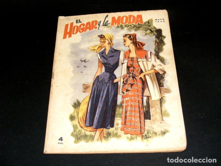 Coleccionismo de Revistas y Periódicos: REVISTA MENSUAL EL HOGAR Y LA MODA - AÑO 1948 COMPLETO - 12 NÚMEROS - VER FOTOS. - Foto 6 - 235113615
