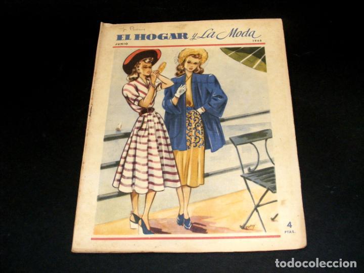 Coleccionismo de Revistas y Periódicos: REVISTA MENSUAL EL HOGAR Y LA MODA - AÑO 1948 COMPLETO - 12 NÚMEROS - VER FOTOS. - Foto 7 - 235113615