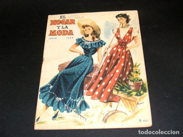 Coleccionismo de Revistas y Periódicos: REVISTA MENSUAL EL HOGAR Y LA MODA - AÑO 1948 COMPLETO - 12 NÚMEROS - VER FOTOS. - Foto 8 - 235113615