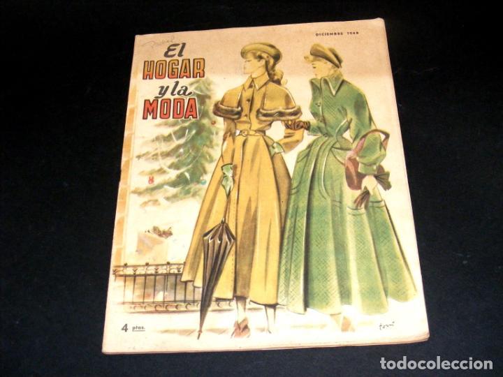 Coleccionismo de Revistas y Periódicos: REVISTA MENSUAL EL HOGAR Y LA MODA - AÑO 1948 COMPLETO - 12 NÚMEROS - VER FOTOS. - Foto 13 - 235113615
